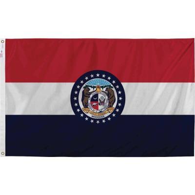 Valley Forge 3 Ft. x 5 Ft. Nylon Missouri State Flag