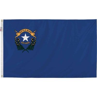 Valley Forge 3 Ft. x 5 Ft. Nylon Nevada State Flag