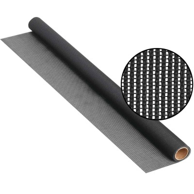 Phifer SunScreen 48 In. x 100 Ft. Charcoal Woven Vinyl-Coated Fiberglass Screen