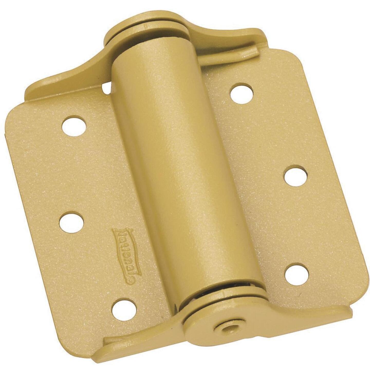 National 3 In. Heavy Spring Door Hinge (2-Pack) Image 1
