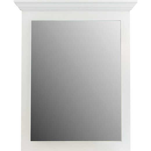 CraftMark Shaker Retreat White 30 In. W x 36 In. H Vanity Mirror