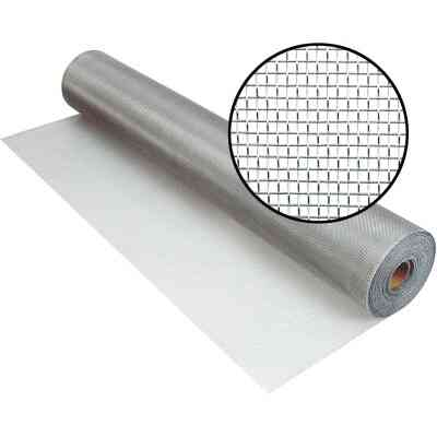 Phifer 42 In. x 100 Ft. Brite Aluminum Screen