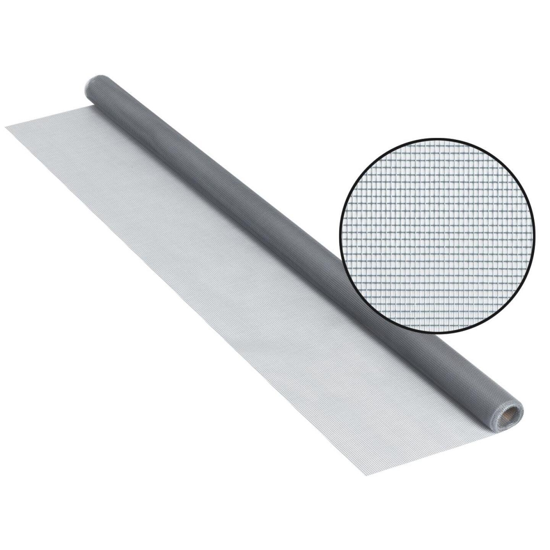 Phifer 24 In. x 84 In. Gray Fiberglass Screen Cloth Ready Rolls Image 1