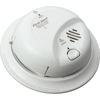 First Alert Hardwired 120V Ionization Carbon Monoxide and Smoke Alarm