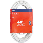 Do it Best 40 Ft. 16/3 Medium-Duty White Patio Extension Cord Image 1