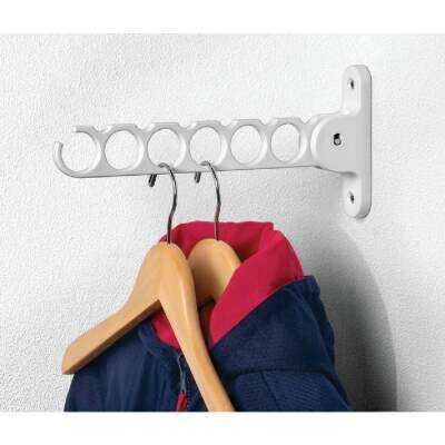 Spectrum White Wall Mount Hanger Holder