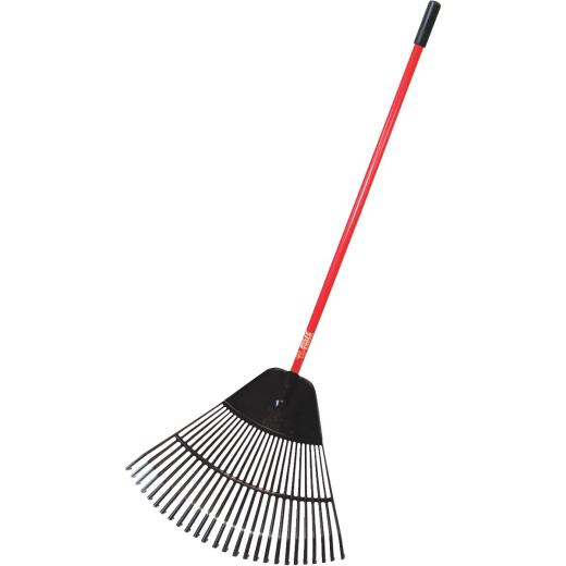Bully Tools 30 In. Poly Leaf Rake (32-Tine)