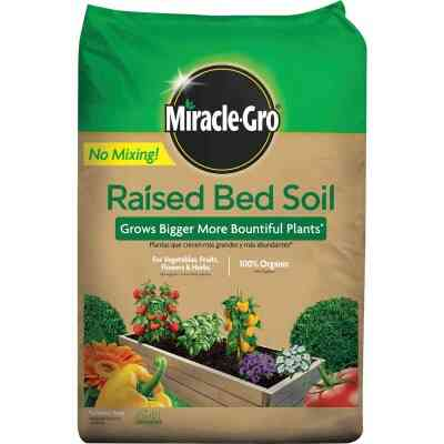 Miracle-Gro 1.5 Cu. Ft. 25 Lb. Raised Bed All-Purpose Garden Soil