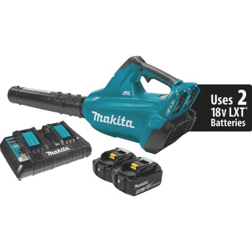 Makita 18V X2 (36V) LXT Lithium-Ion Brushless (5.0Ah) Cordless Blower Kit