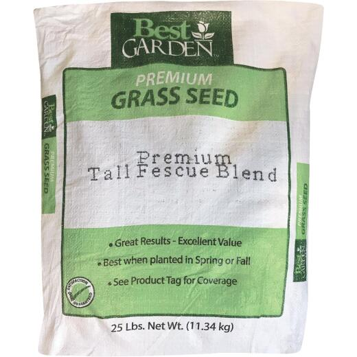Best Garden 25 Lb. 4500 Sq. Ft. Coverage Sun to Partial Shade Grass Seed